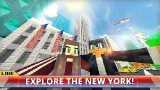 new york city craft: nyc explorer and builder game