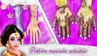 royal bridal mehndi designs pedicure manicure spa