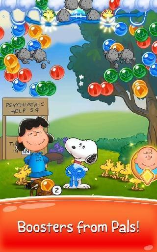 snoopy pop - free match, blast and pop bubble game