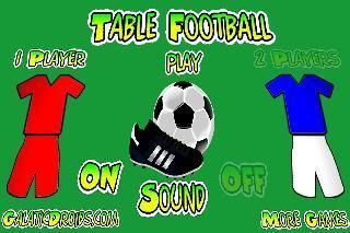 table football, soccer 3d