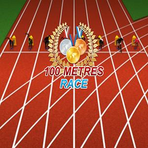 100 metres race GameSkip