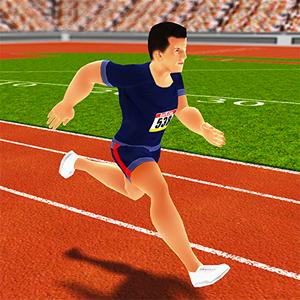100 metres sprinter GameSkip