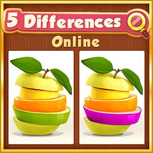 5 differences online GameSkip