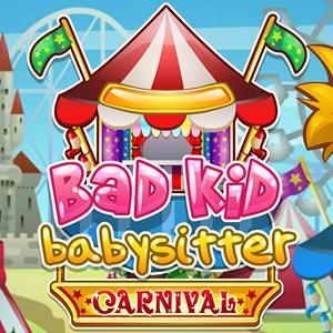 bad kids babysitter carnival GameSkip