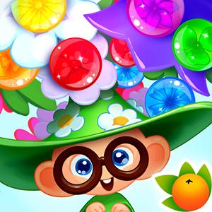 bubble flower miracle GameSkip
