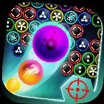 bubble shooter galaxy defense GameSkip