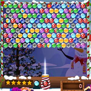 bubble shooter xmas GameSkip