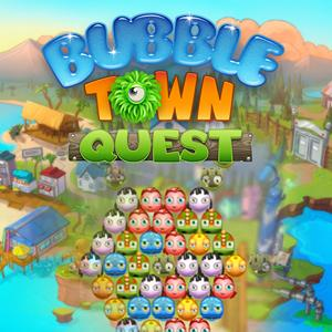 bubble town quest GameSkip