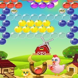 chicken bubble GameSkip