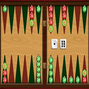 christmas backgammon GameSkip