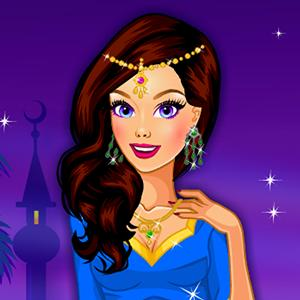 desert nights dress up GameSkip