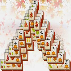 fall mahjong GameSkip