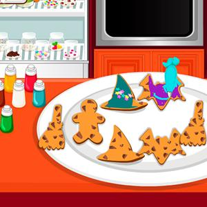 halloween cookies game GameSkip