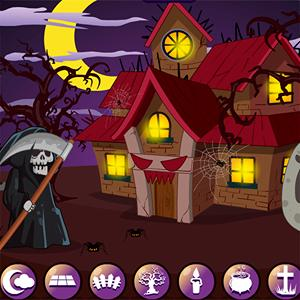 halloween house decor GameSkip