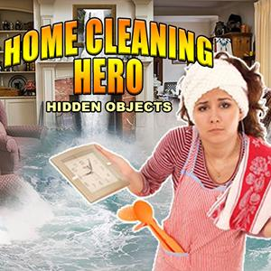 home cleaning hero GameSkip
