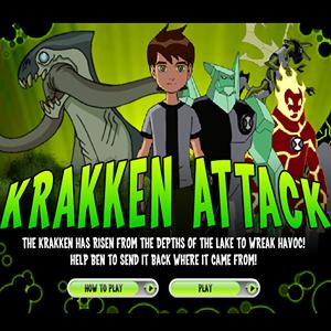 kraken attack GameSkip