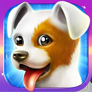 lovely pets dog town GameSkip