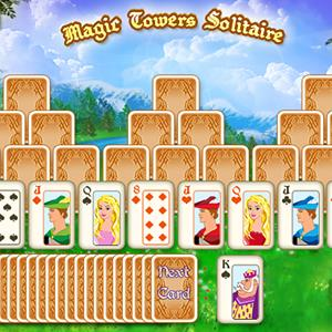 magic towers solitaire GameSkip