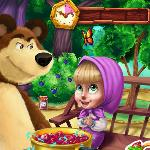 masha and bear kitchen mischief GameSkip