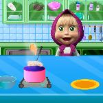 masha cooking school GameSkip