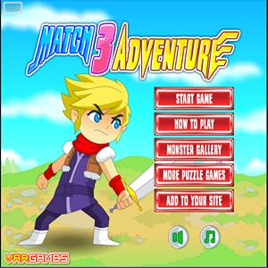 match 3 adventure GameSkip