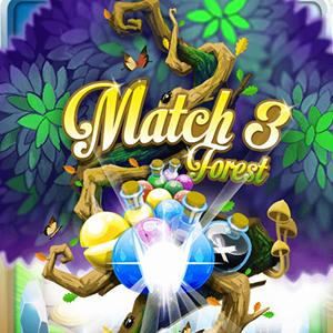 match 3 forrest GameSkip