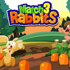 match 3 rabbits GameSkip