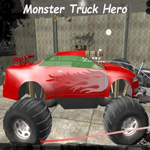 monster truck hero GameSkip
