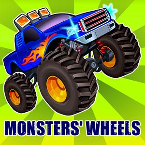 monsters wheels GameSkip