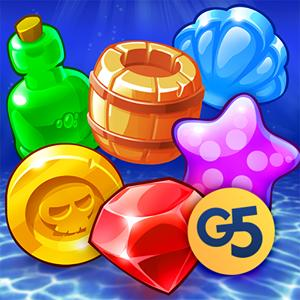 pirates & pearls match 3 puzzle GameSkip