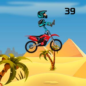 pyramid moto stunts GameSkip
