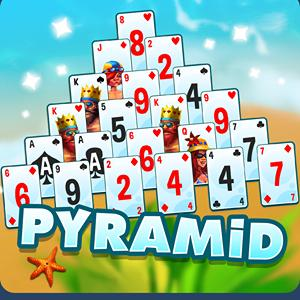pyramid solitaire beach resort GameSkip