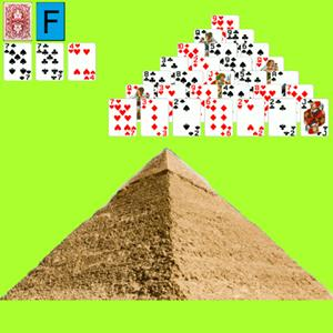 pyramid solitaire x GameSkip