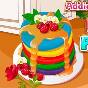 rainbow pancakes game GameSkip
