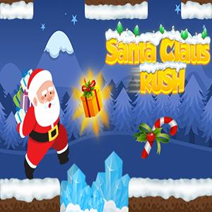 santa claus rush GameSkip