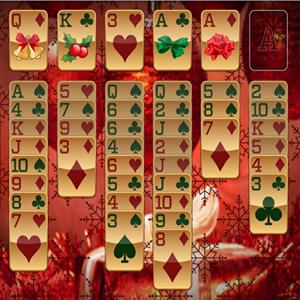 santa claus solitaire GameSkip