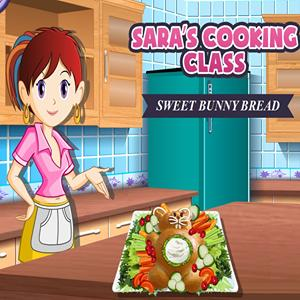 sara s cooking sweet bunny bread GameSkip