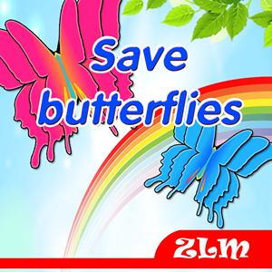save butterflies GameSkip