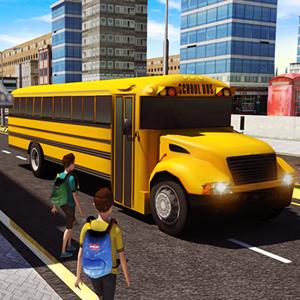 school bus license 3d GameSkip