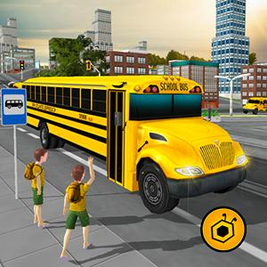 school bus simulator 3d GameSkip