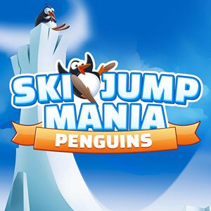 ski jump mania penguins GameSkip