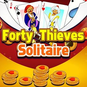 solitaire forty thieves GameSkip