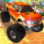 super trucks 3d GameSkip