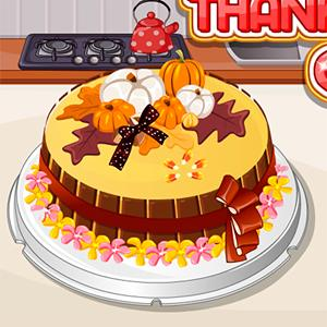 thanks giving cake GameSkip