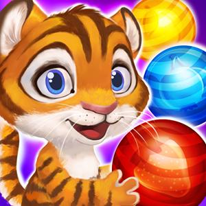 tigers bubble pop GameSkip