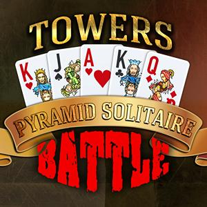 towers battle pyramid solitaire GameSkip