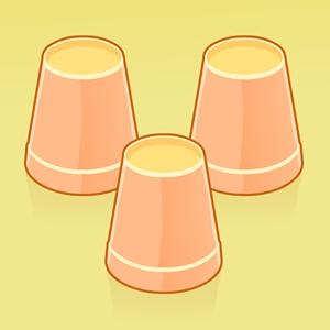 tricky cups memory game GameSkip
