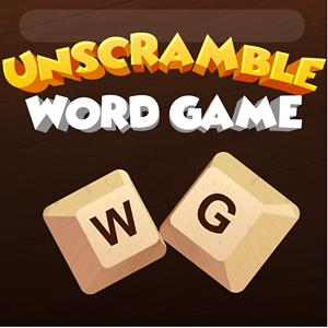 unscramble word game GameSkip